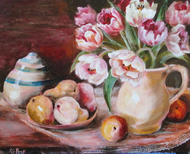 Tulips, Pears and aPitcher