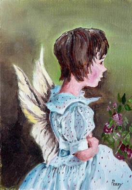 #13 Angel 5x7
