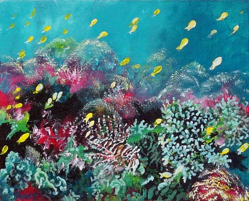 #22 Undersea 8x10