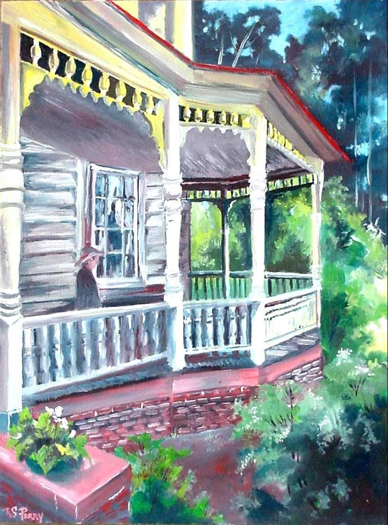 #34 Front Porch 12x16