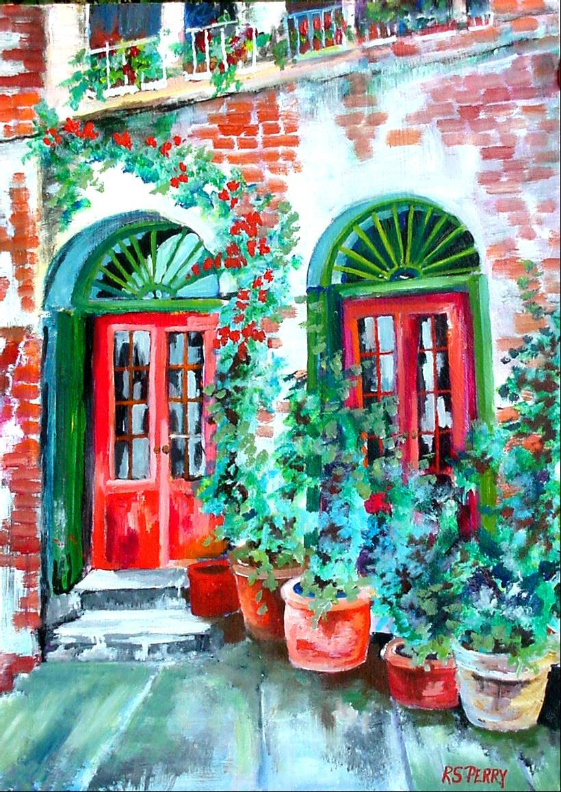 #35 French Quarter 12x16