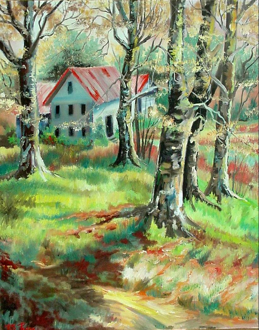 #43 At Home In The Country 16x20