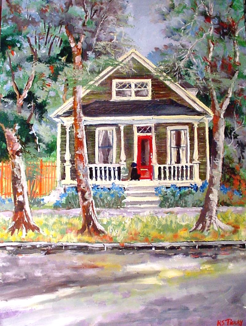 #55 Mary Ann's house 12x16 (Sold)