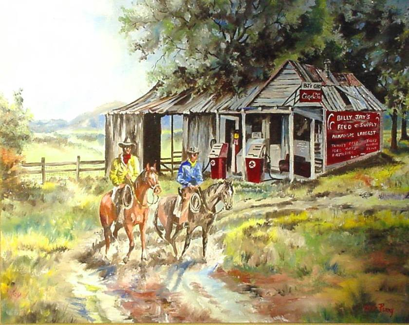 #7 BJ's Grocery 18x24
