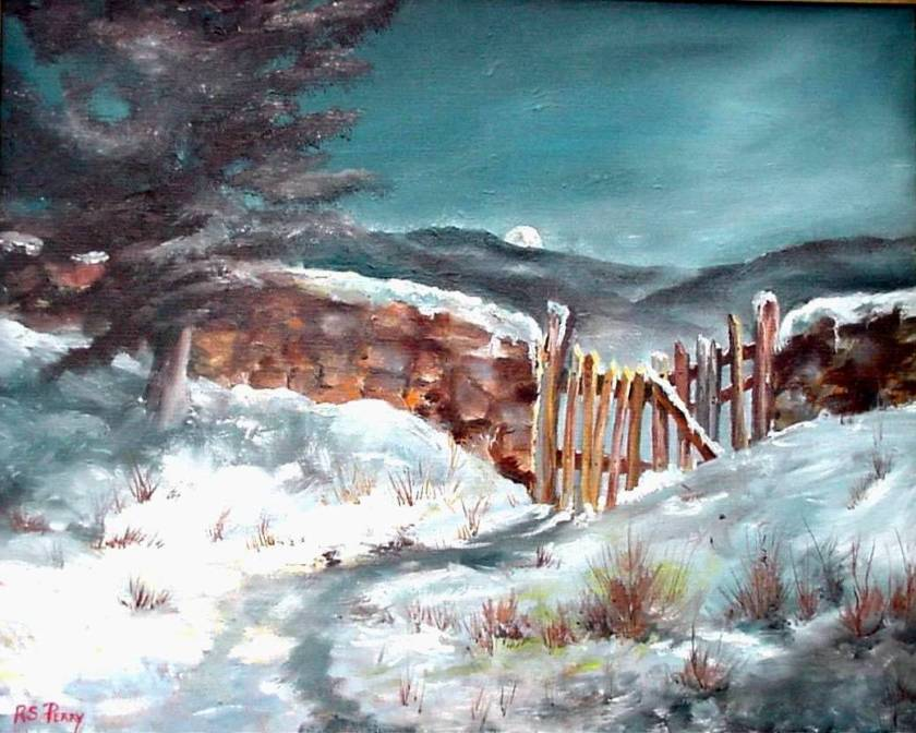 #8 The Snowy Gate 16x20