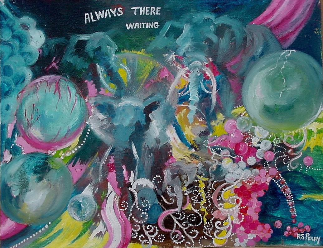 #9 Always There Waiting 14x18
