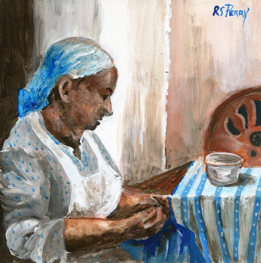 2.6.2019-006 Gullah Woman Sewing